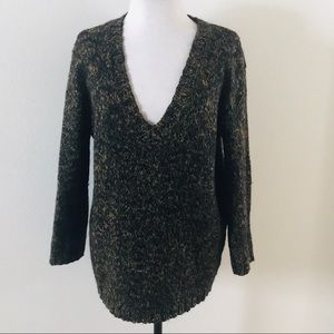 Silence and Noise V Neck sweater